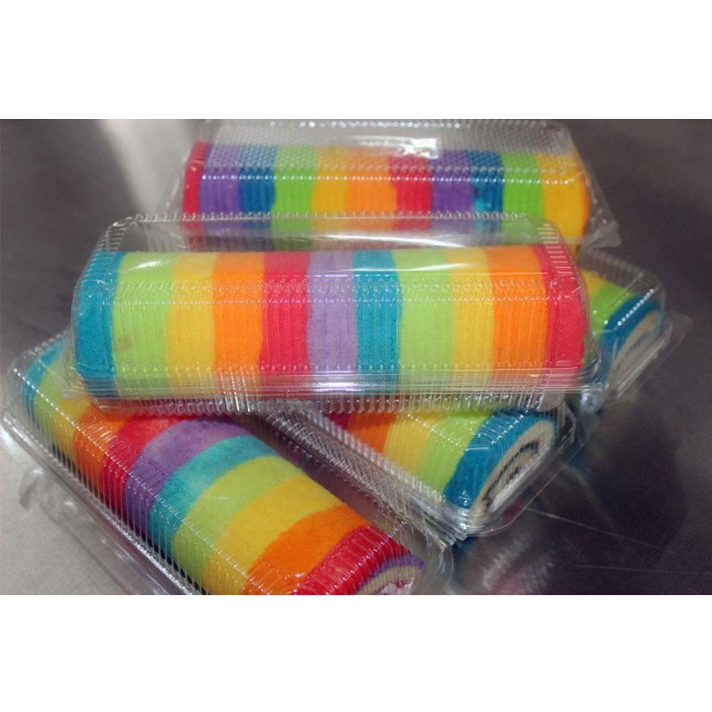 Rainbow Cake Gulung Kampoeng Roti